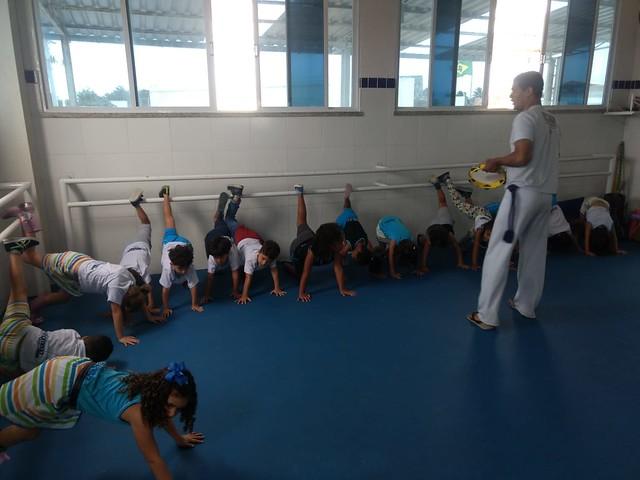 Aula de Capoeira - Educação Infantil