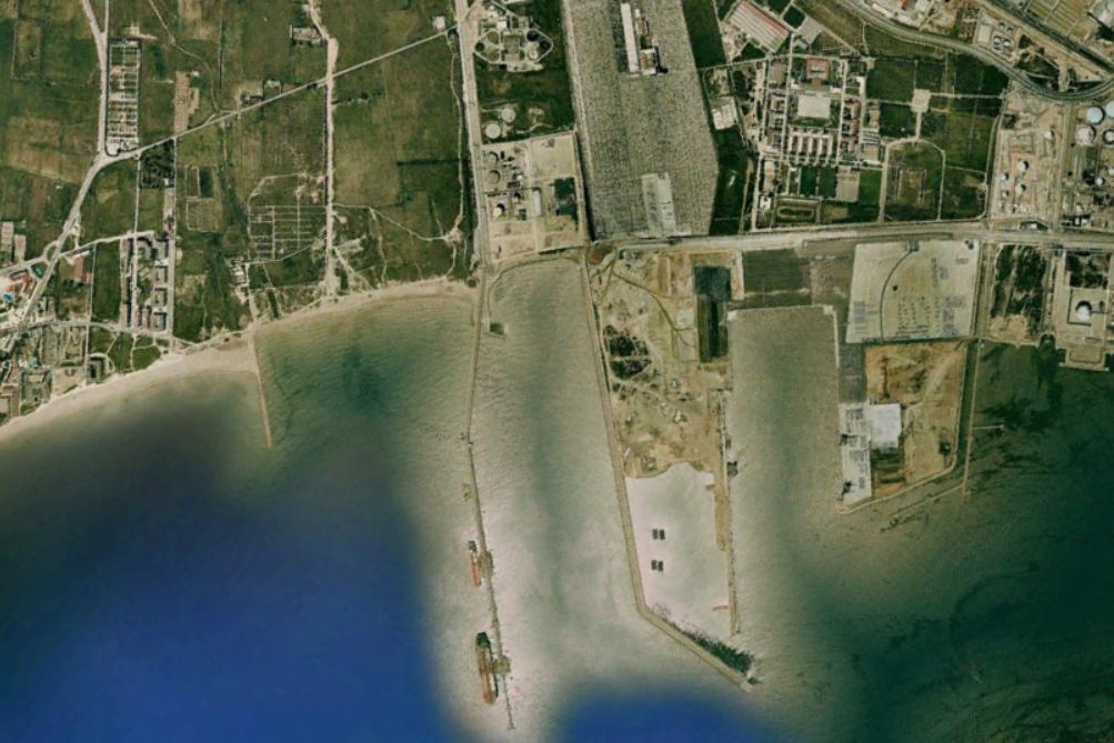 puerto de tarragona, tarragona, puerto o refinería, antes, urbanismo, planeamiento, urbano, desastre, urbanístico, construcción