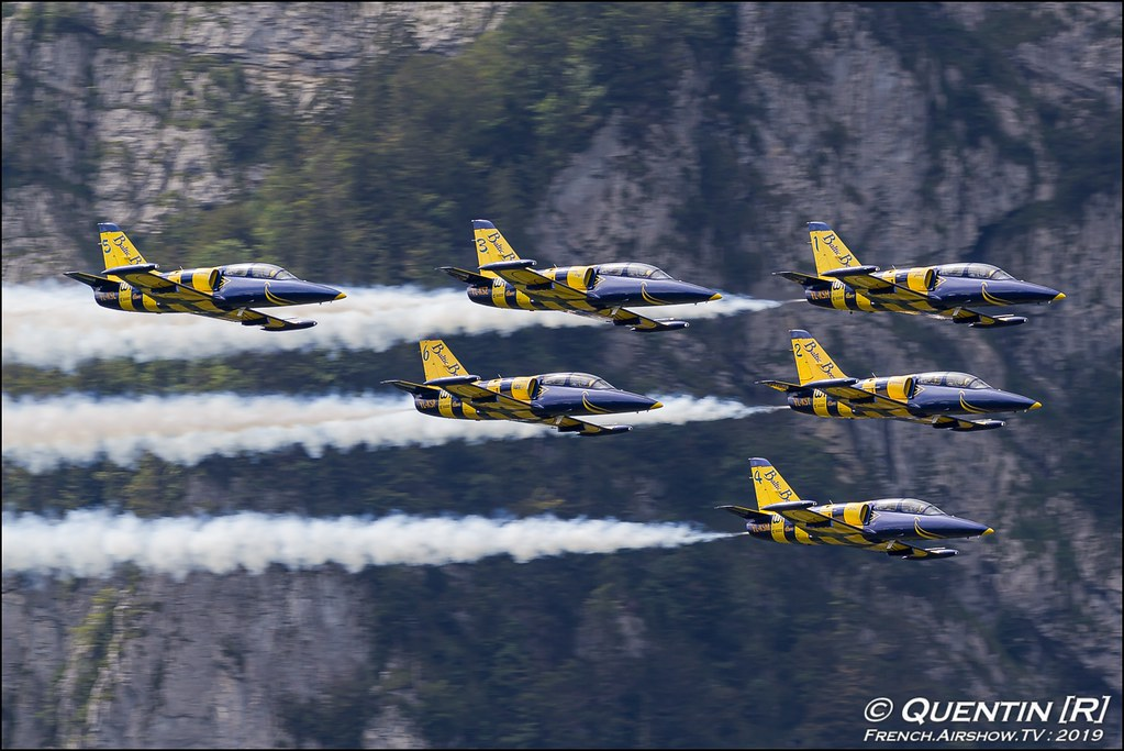 Baltic Bees Jet Team Zigermeet Mollis en Suisse Canon Sigma France contemporary lens Meeting Aerien 2019