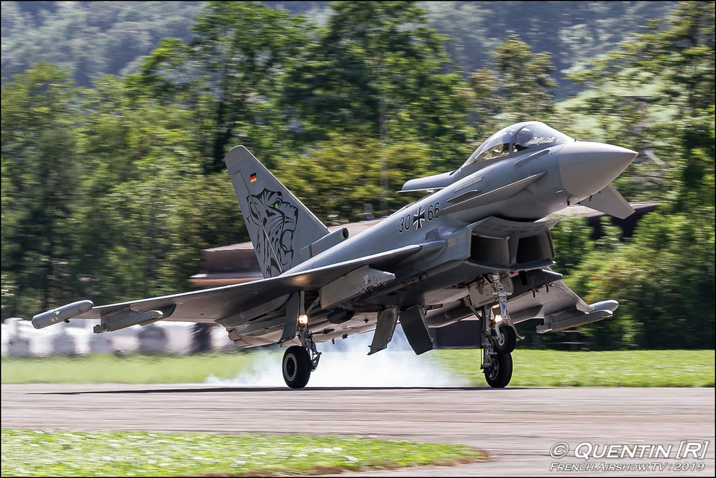 Eurofighter Typhoon Tiger Zigermeet Mollis en Suisse Canon Sigma France contemporary lens Meeting Aerien 2019