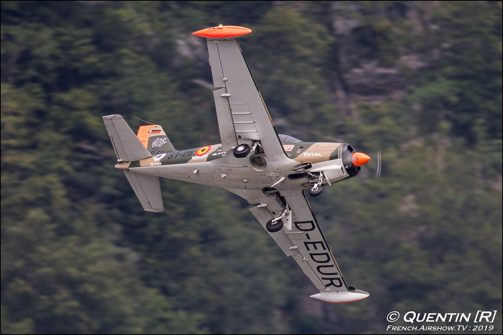 SF-260 Marchetti Team Niebergall Zigermeet Mollis en Suisse Canon Sigma France contemporary lens Meeting Aerien 2019