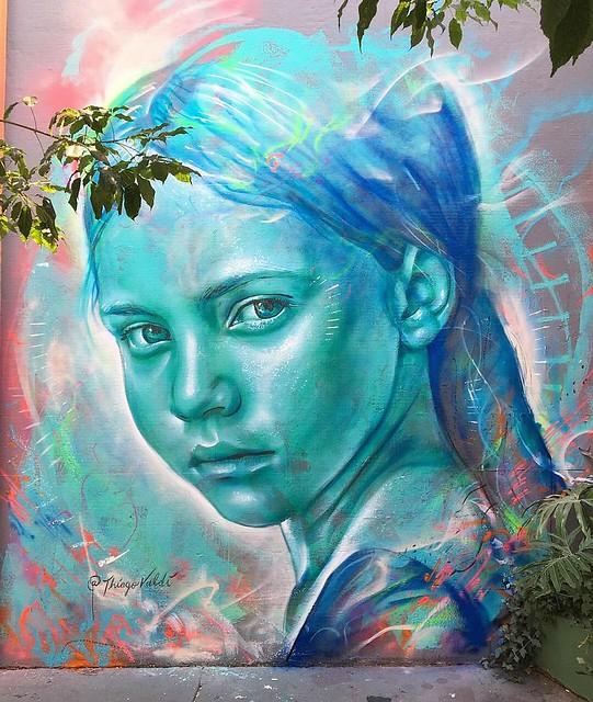 Innocense, painting made at São Paulo.