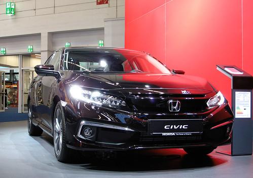 Honda Civic sedan facelift Photo