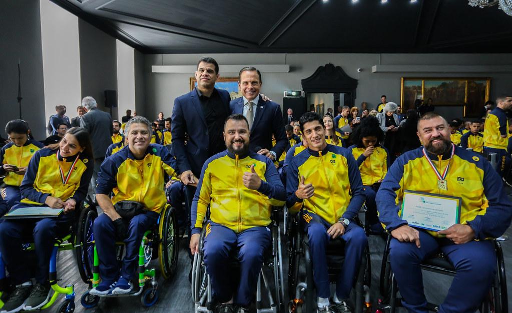Homenagem ao Time São Paulo Paralímpico