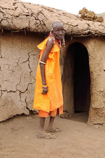 Maasai woman, Amboseli National Park,Kenya