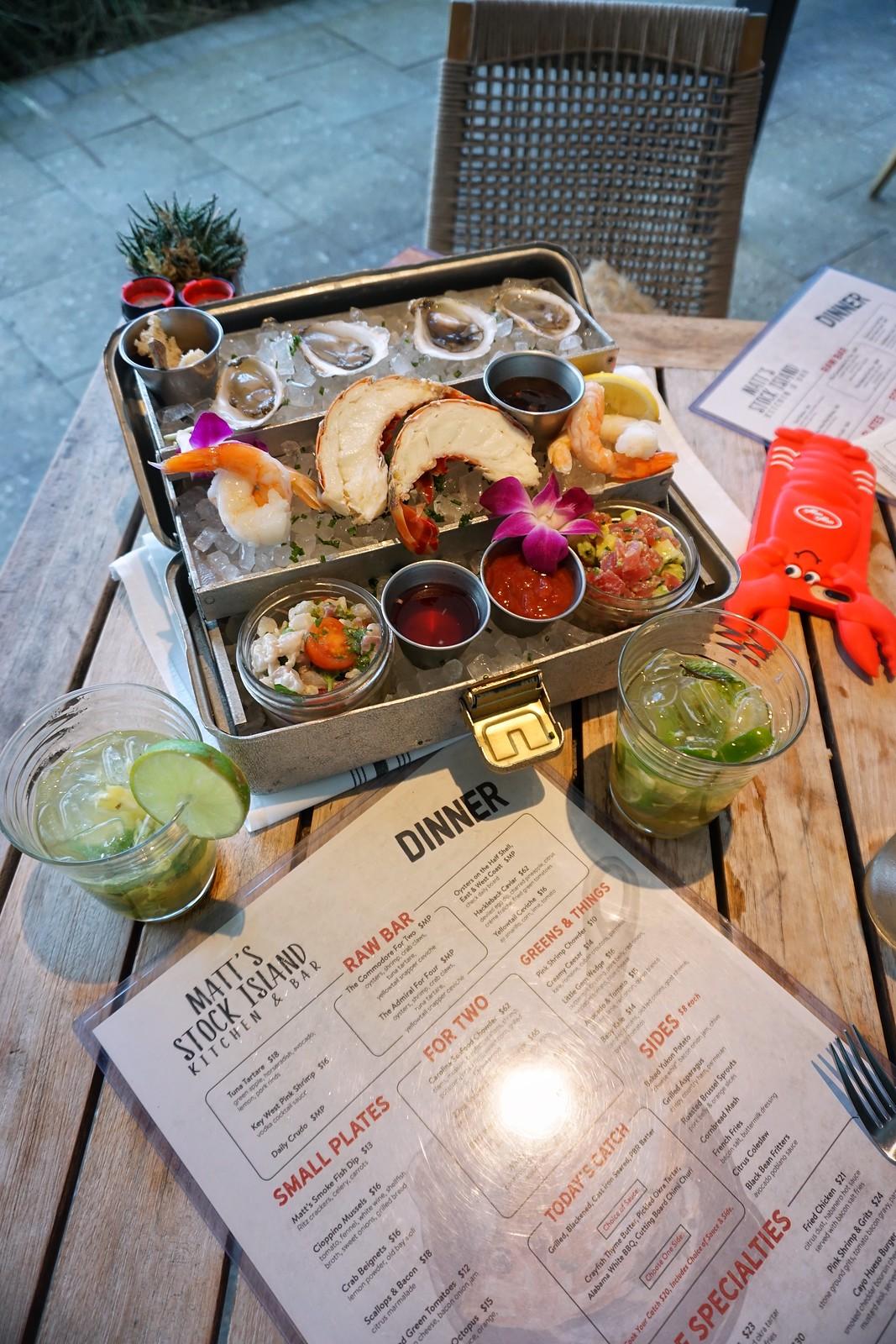 matts-stock-island-restaurant-seafood-ultimate-road-trip-5-days-florida-keys-itinerary-what-to-do-key-west-key-largo-islamorada-marathon-miami-vacation-guide