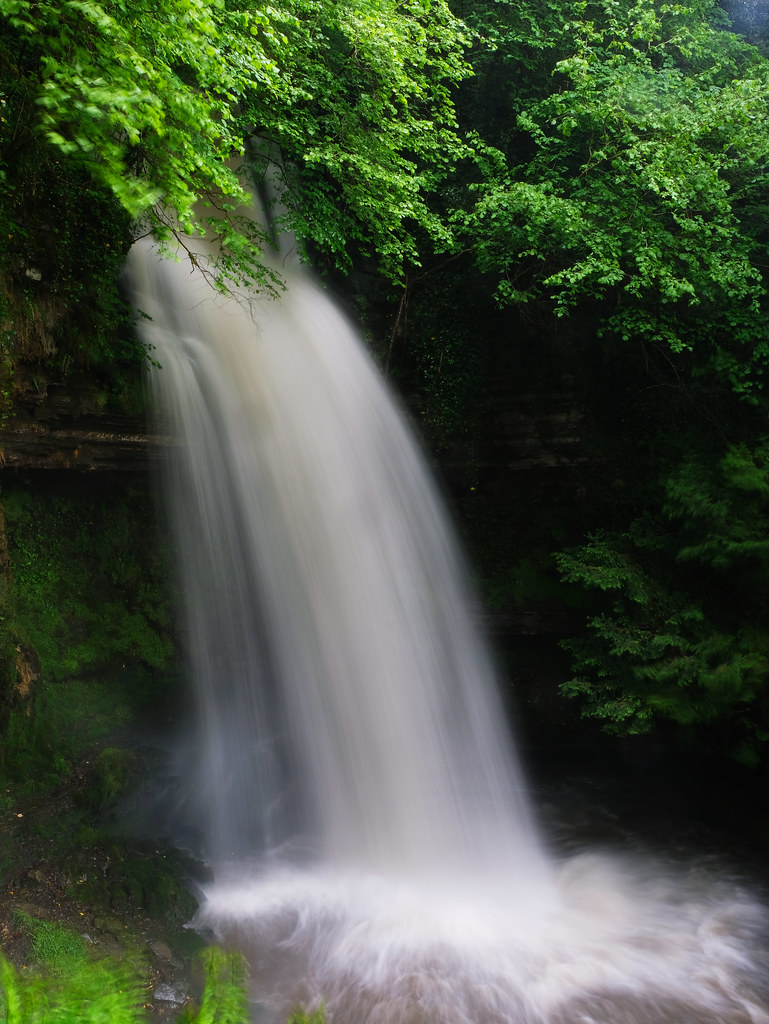Glencar Waterfall, Ireland