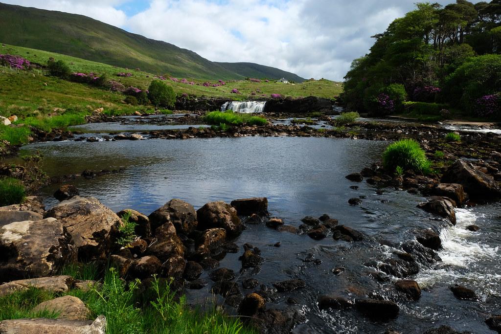 Aasleagh Falls, County Mayo, Ireland