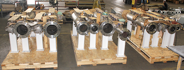Pig Launchers and Receivers Custom Designed for a Chemical Plant