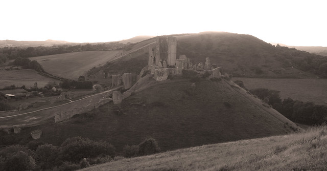 Corfe Castle Dorset..(1,000 years of history)