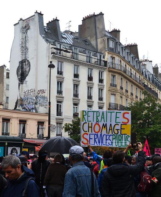Manifestation à Paris contre la