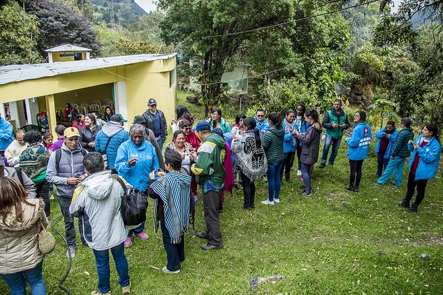 Intercambio de saberes ancestrales en Sumapaz