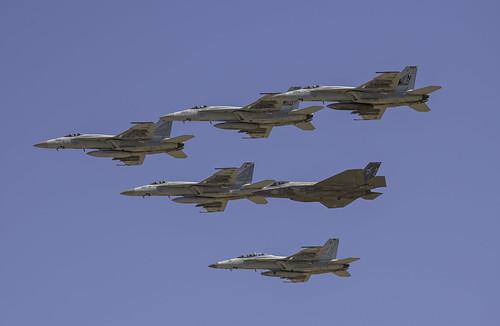 Lemoore Front line Fighter Formation