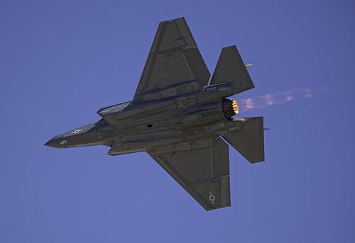Underside of the F-35C