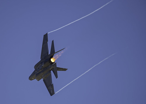 Flame from the F-35 C