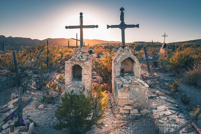 Ghost town cemetery, Terlingua, TX