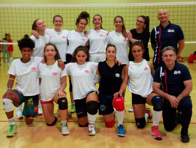 volley femminile. preparazione academy