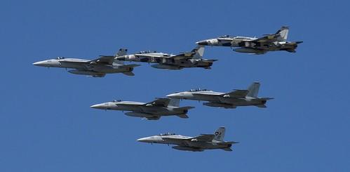 USN F/A 18 HORNETS & SUPER HORNETS,