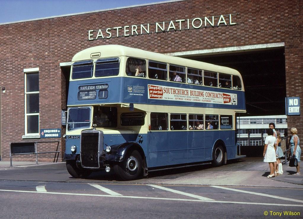 CJN441C Southend Transport 341