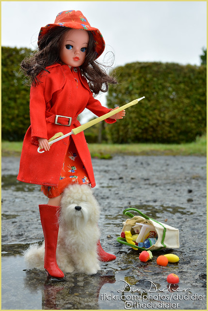 1/15 The problem with a doll umbrella...