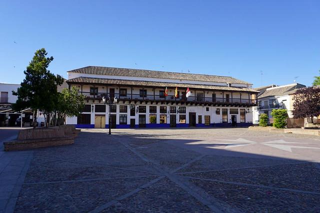 La Corredera (Plaza de España, Consuegra)
