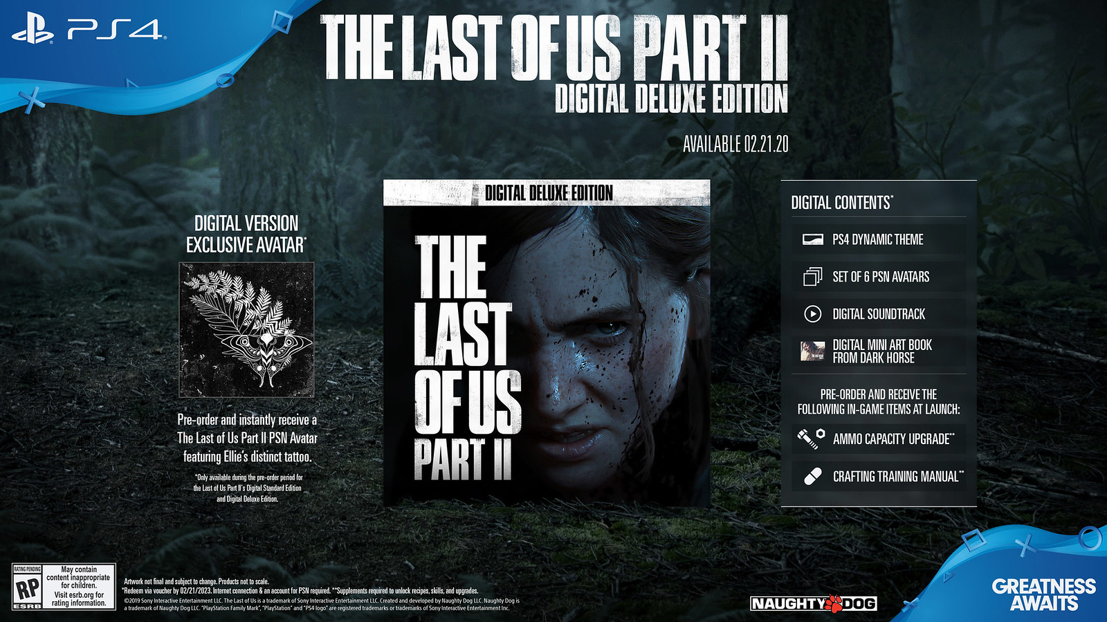 The Last of Us Part II - Digital Deluxe Edition