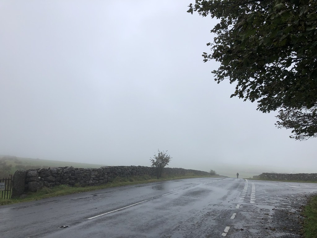 A Yorkshireman emerges from the cloud