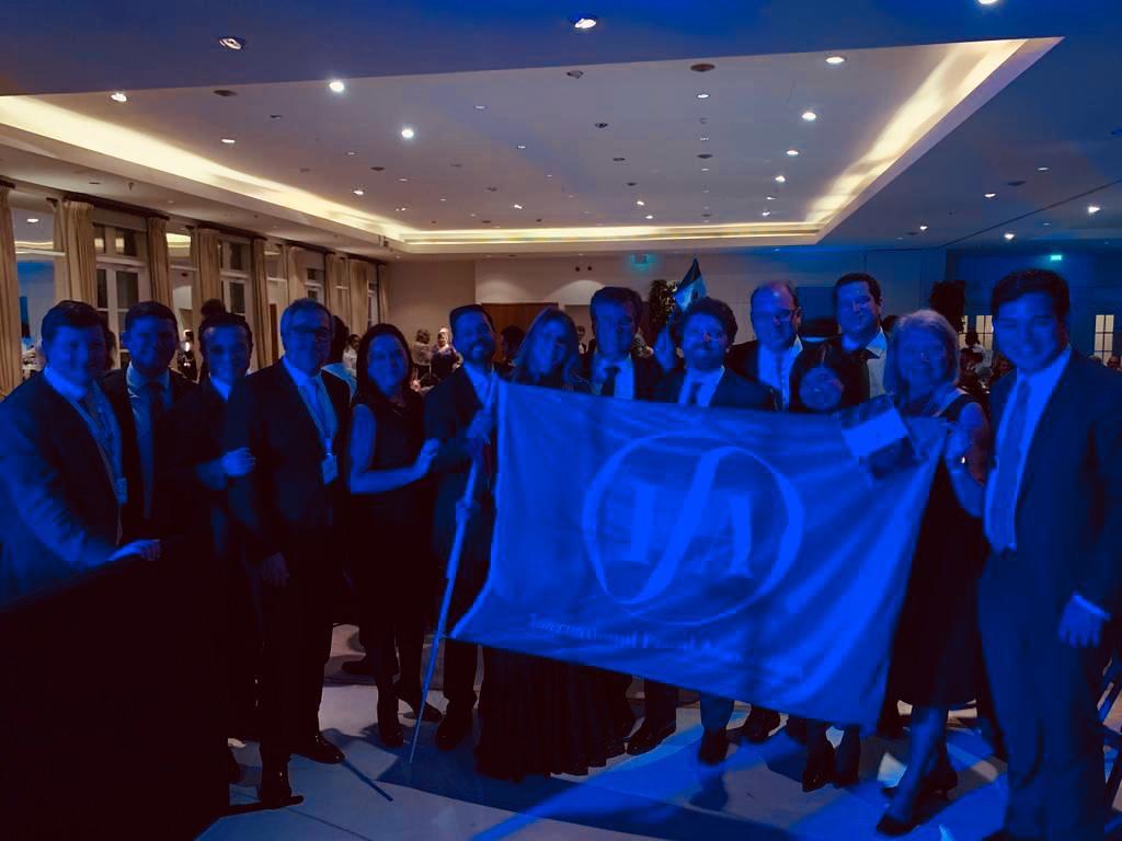 Cerimônia de entrega da bandeira da IFA - IFA 2019