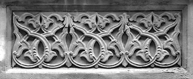 Leaf and vine design - architectural detail, Istanbul