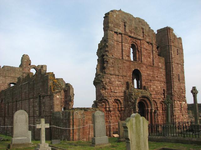 Remains of Lindisfarne Priory