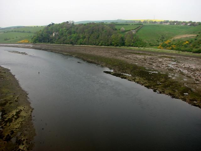 Crossing the river Tweed