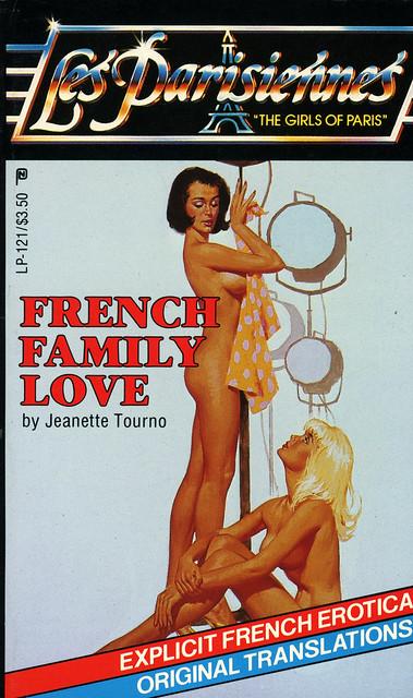 Les Parisiennes LP-121 - Jeanette Tourno - French Family Love