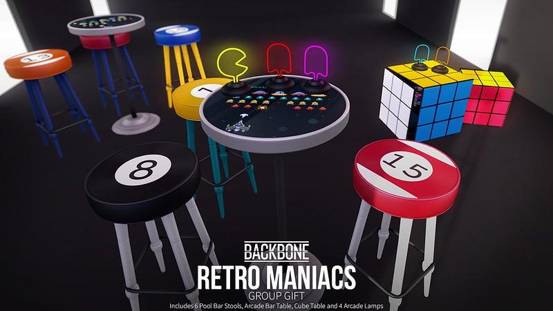 BackBone Retro Maniacs