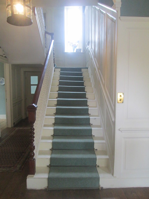 Staircase, Lamb House, Rye,