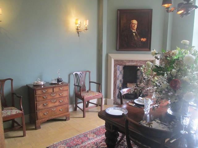 Lamb House, dining room, Rye