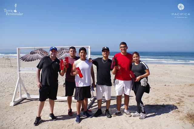 Limpieza Internacional Costera en Ensenada, 2019