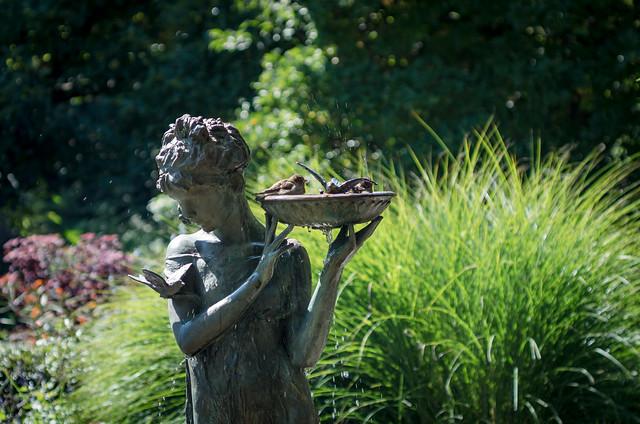 Fountain for the Birds [Burnett Fountain]