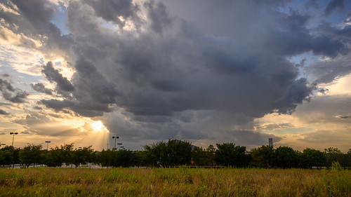 sunset storms clouds landscape nature flowermound texas fall 2019