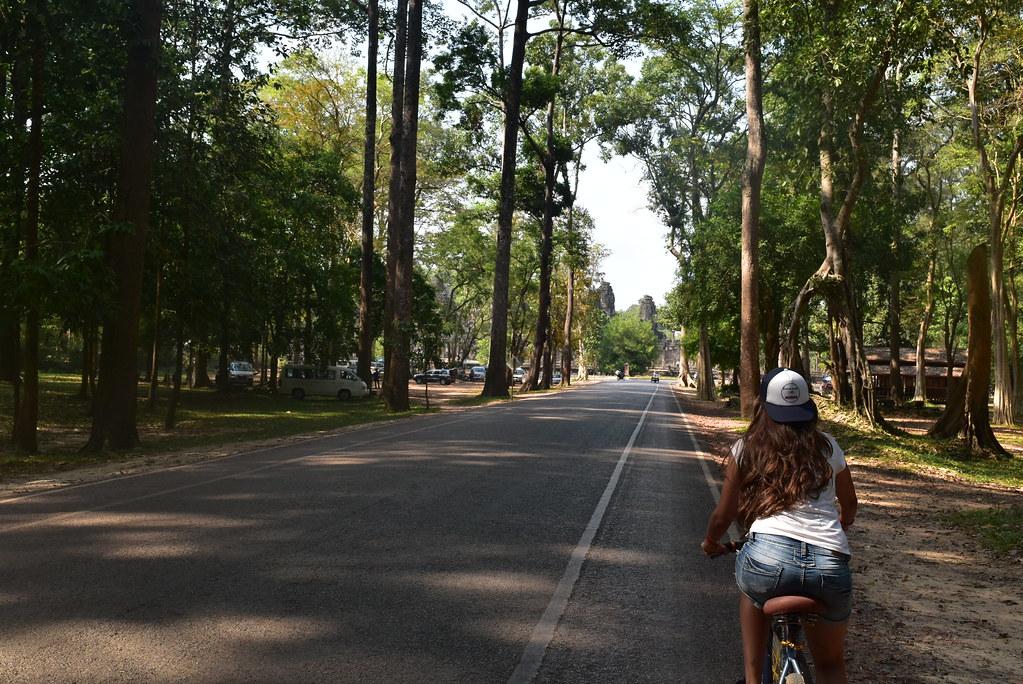 Bici por Angkor