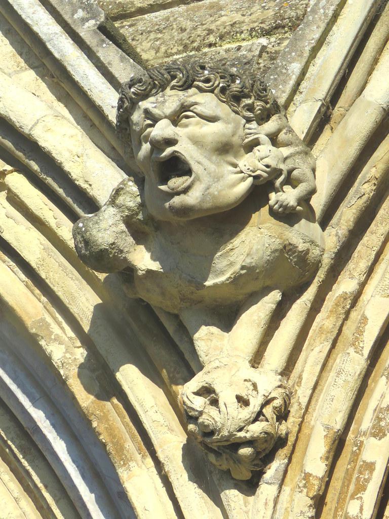 Gargoyle Scream, Salisbury Cathedral
