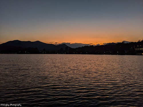 lakejunaluska northcarolina sunset smokymountains mountains lake naturalbeauty