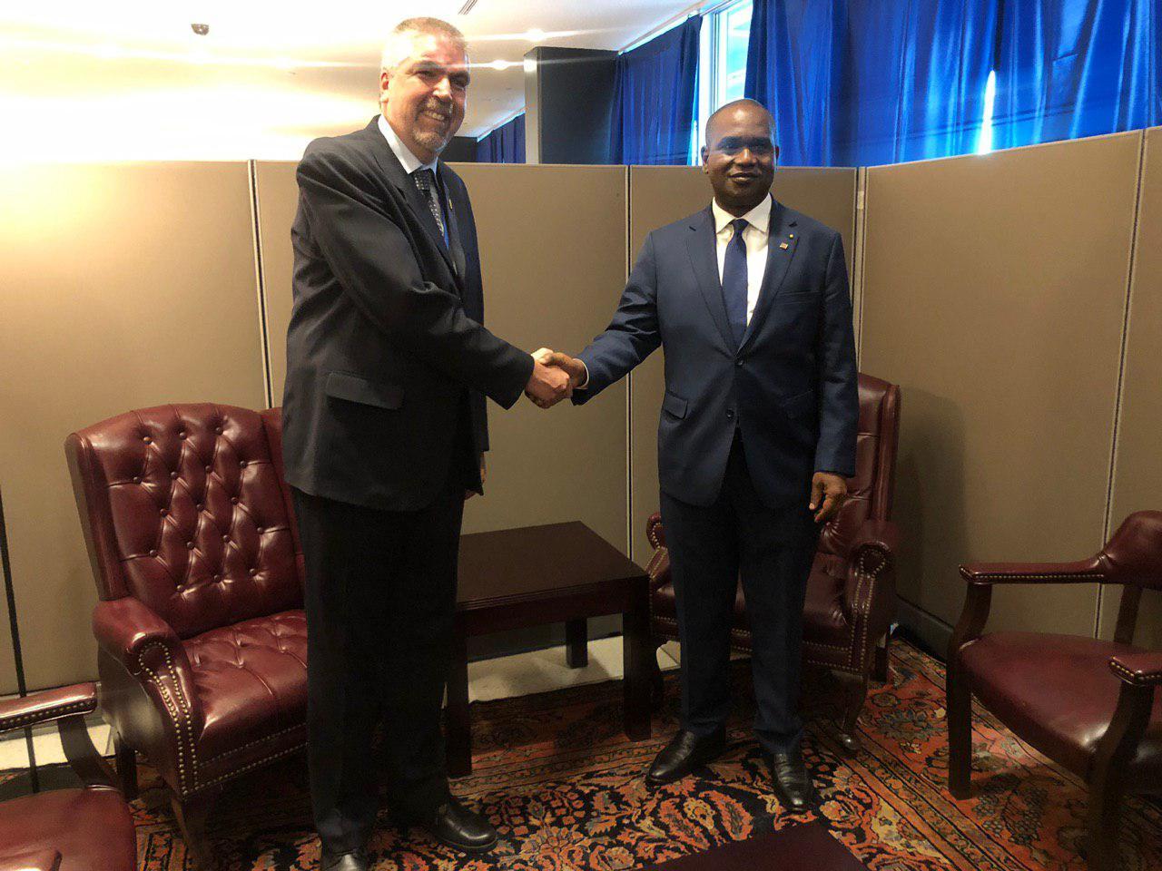 Viceministro para África, Yuri Pimentel, sostuvo un importante encuentro bilateral con el Ministro de Relaciones Exteriores y Cooperación de Burkina Faso, Alpha Barry, con el objetivo de estrechar los lazos de cooperación y amistad entre ambas naciones