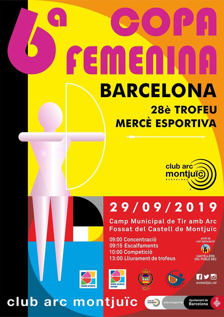 VI Copa Barcelona Femenina - XXVIII Trofeu Mercè Esportiva - 29/09/2019
