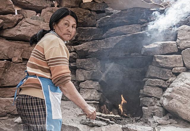 Cocinando tortillas