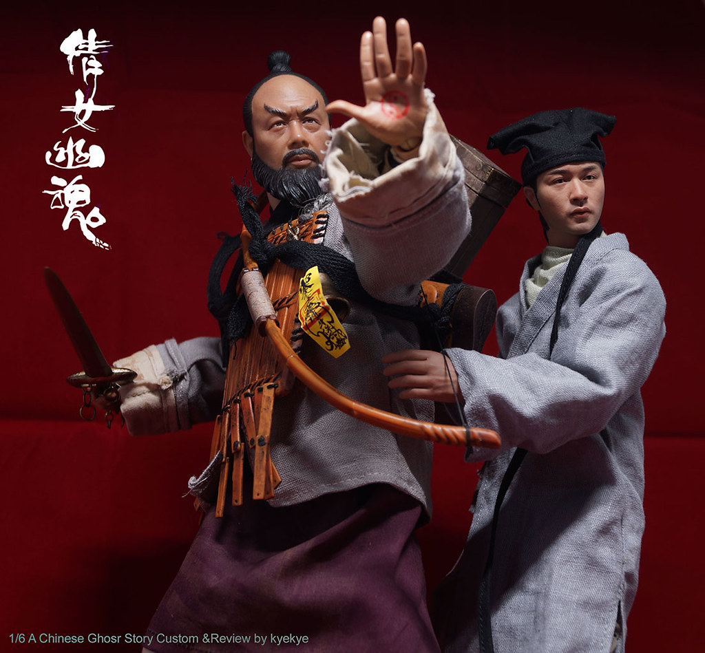 NEW PRODUCT: 1/6 scale A Chinese Ghost Story - YAN CIXIA Ghost Hunter (Wu Ma)  From Young Toys  Code: YT1910201801 48791645443_6b7275bc9e_b