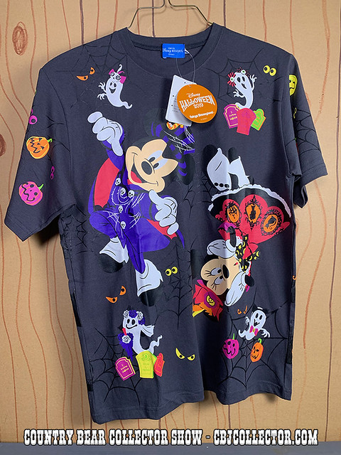 2019 Tokyo Disneyland Spooky Boo Shirt - Country Bear Collector Show #225