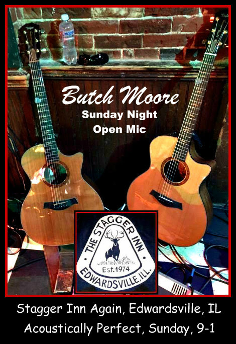 Butch Moore Sunday Open Mic