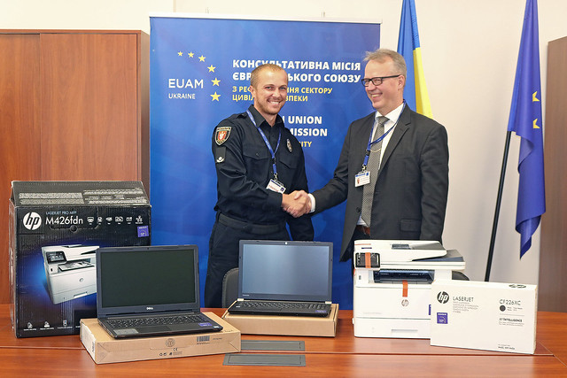EUAM Head of Mission visits Odesa region