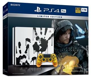 台灣確定發售!PlayStation®4 Pro《死亡擱淺 DEATH STRANDING》LIMITED EDITION 特仕款主機公佈!