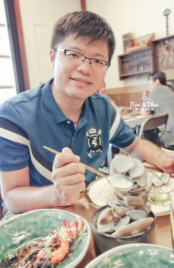 村口微光 一中逢甲menu菜單蛤蠣35